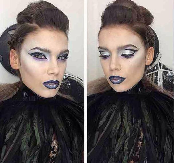 makeup artist london, makeup, vampire makeup, tammy dexter, zullo & holland, roseanna velin,