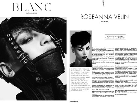 Blanc Magazine Interview