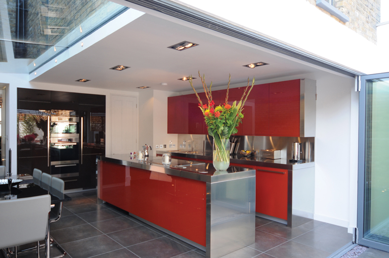 Kitchen inward