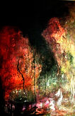 Minescape acrylic on canvas 2015