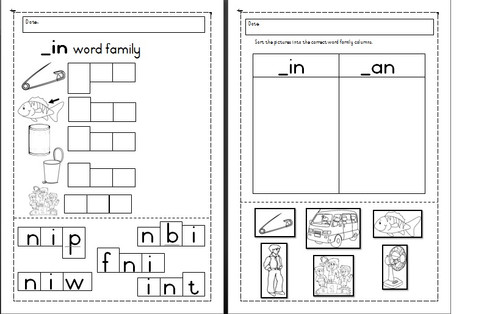 Prepositional Phrase Worksheet 4th Grade In Word Family Activities  Teaching Material  South Africa  Human Anatomy Worksheet Word with Grammar Worksheets For 3rd Grade Word The In Word Family Pack Consists Of Two Worksheets The First Worksheet Is  Aimed At Word Building Using Known Letter Sounds The Second Worksheet Is  Used  Tax Itemized Deductions Worksheet