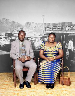 Isabelle and Albert Ngandu