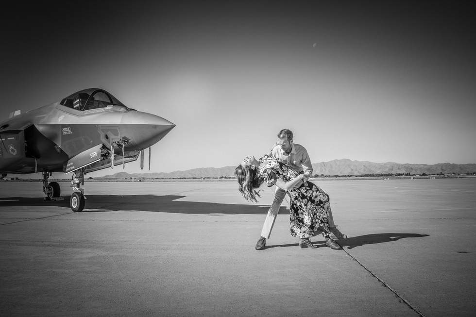 Couples Photography F-35 Jet Photos