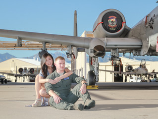 A-10 Jet Couples Session Tucson, AZ