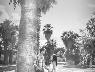 Elizabeth + Jason Maternity Photography Tucson, AZ