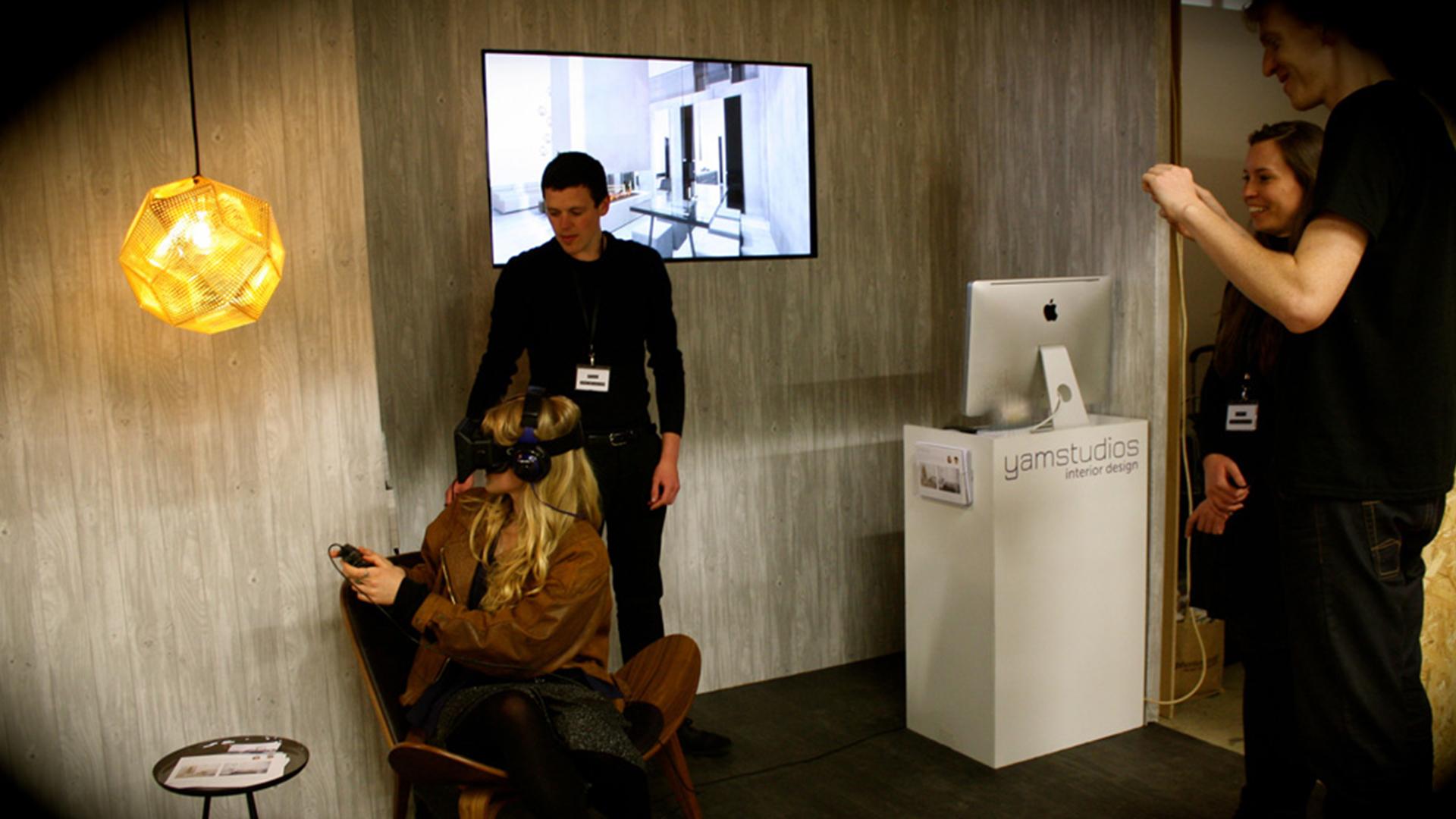 Yam Studios - VR oculus room