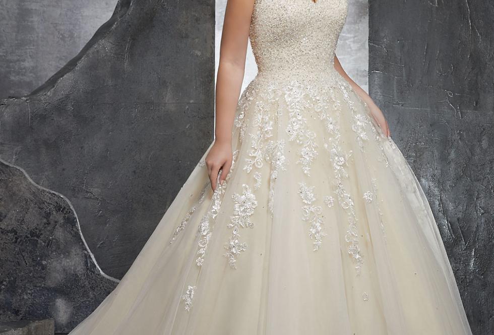 Kasmira Plus Size Wedding Dress