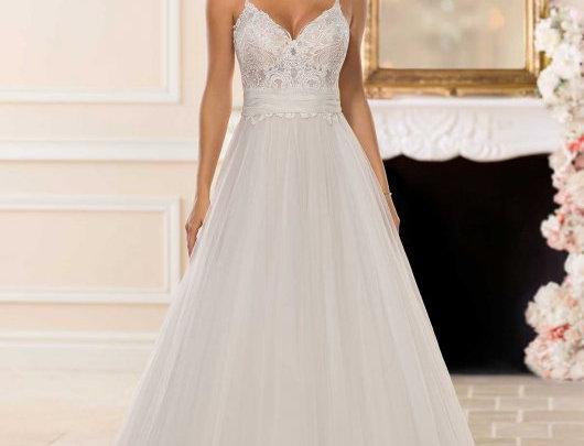 Romantic Boho Ballgown Wedding Dress