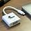 Thumbnail: Adaptador X-TECH tipo C a VGA