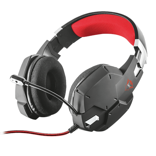 Auriculares para juegos GXT 322 Carus - negro