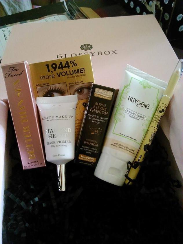 #Glossybox : L'année commence en beauté