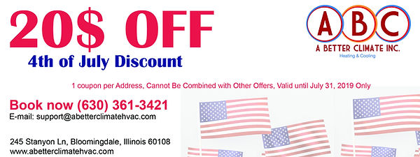 4th of July Coupon - 20 Dollar Off Disco