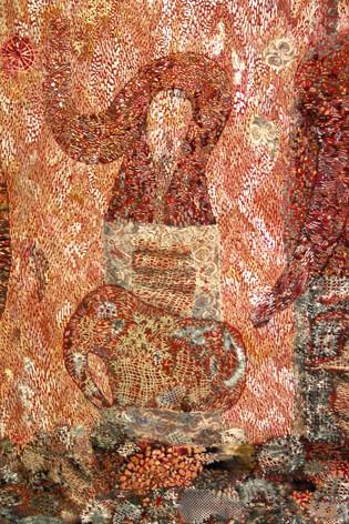 Detalje fra Parafrasen efter skulpturen Snabel