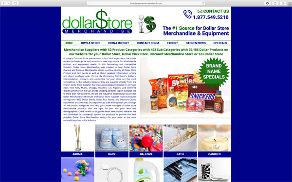 Dollar Store Merchandise