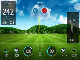 SkyTrak Launch Monitor at City of Derry Golf Club