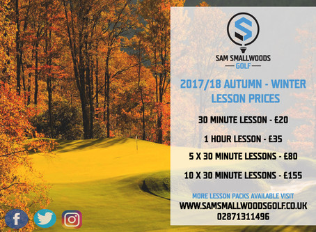 PLAY BETTER GOLF IN 2018