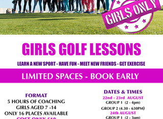 GIRLS LESSONS