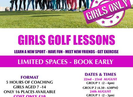 GIRLS LESSONS