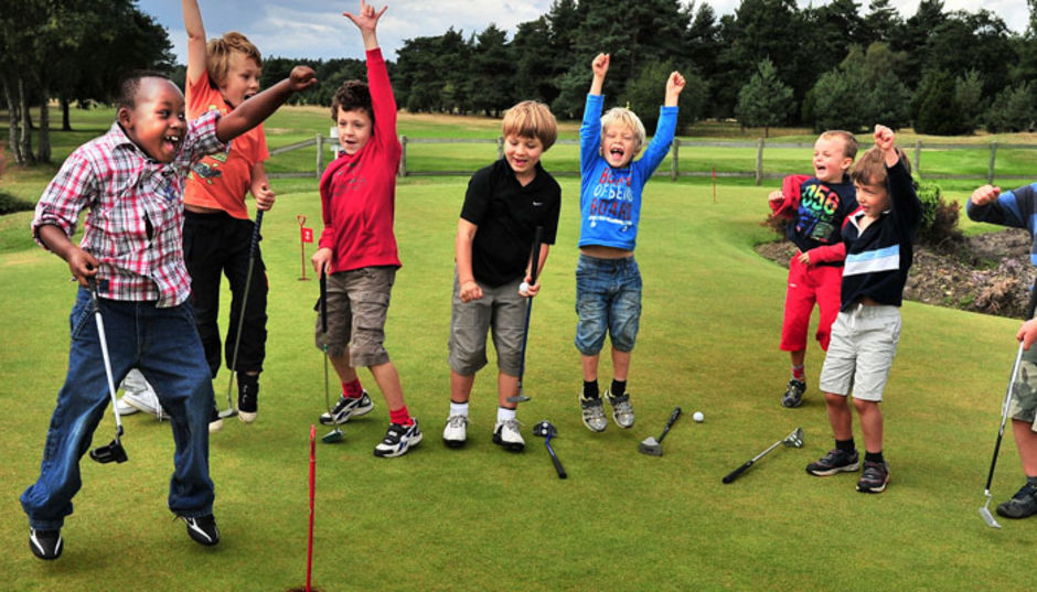 junior golf at city of derry golf club