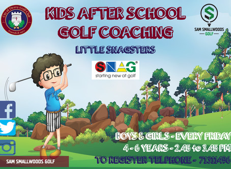 LITTLE SNAGSTERS AFTER SCHOOL COACHING PROGRAM