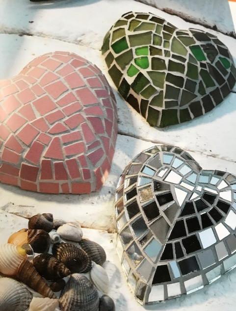 Rita's Heart Mosaic