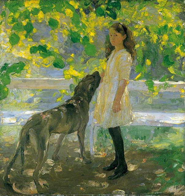 Lime Tree Shade 1914 by Amy Katherine Br
