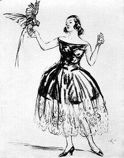 Fashion Sketches 1921 (11) Miss Mackay a