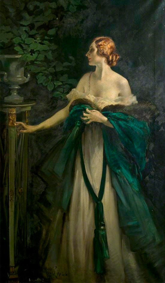 Silver and Green by William Bruce Ellis Ranken © Usher Gallery Lincolnshire