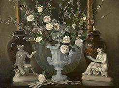 Still Life Black and White by William Bruce Ellis Ranken ©National Galleries of Scotland