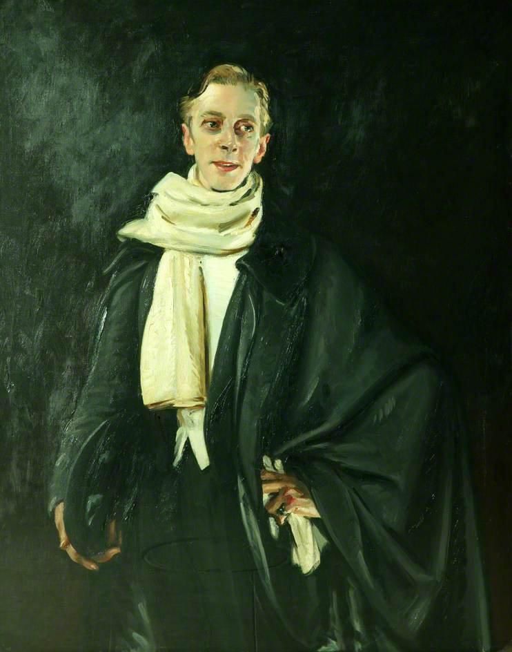 Ernest Thesiger by William Bruce Ellis Ranken ©Manchester Art Gallery
