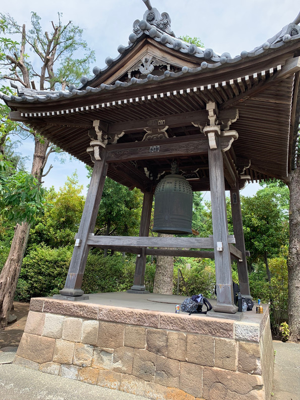 The Bell at Seihoji Temple