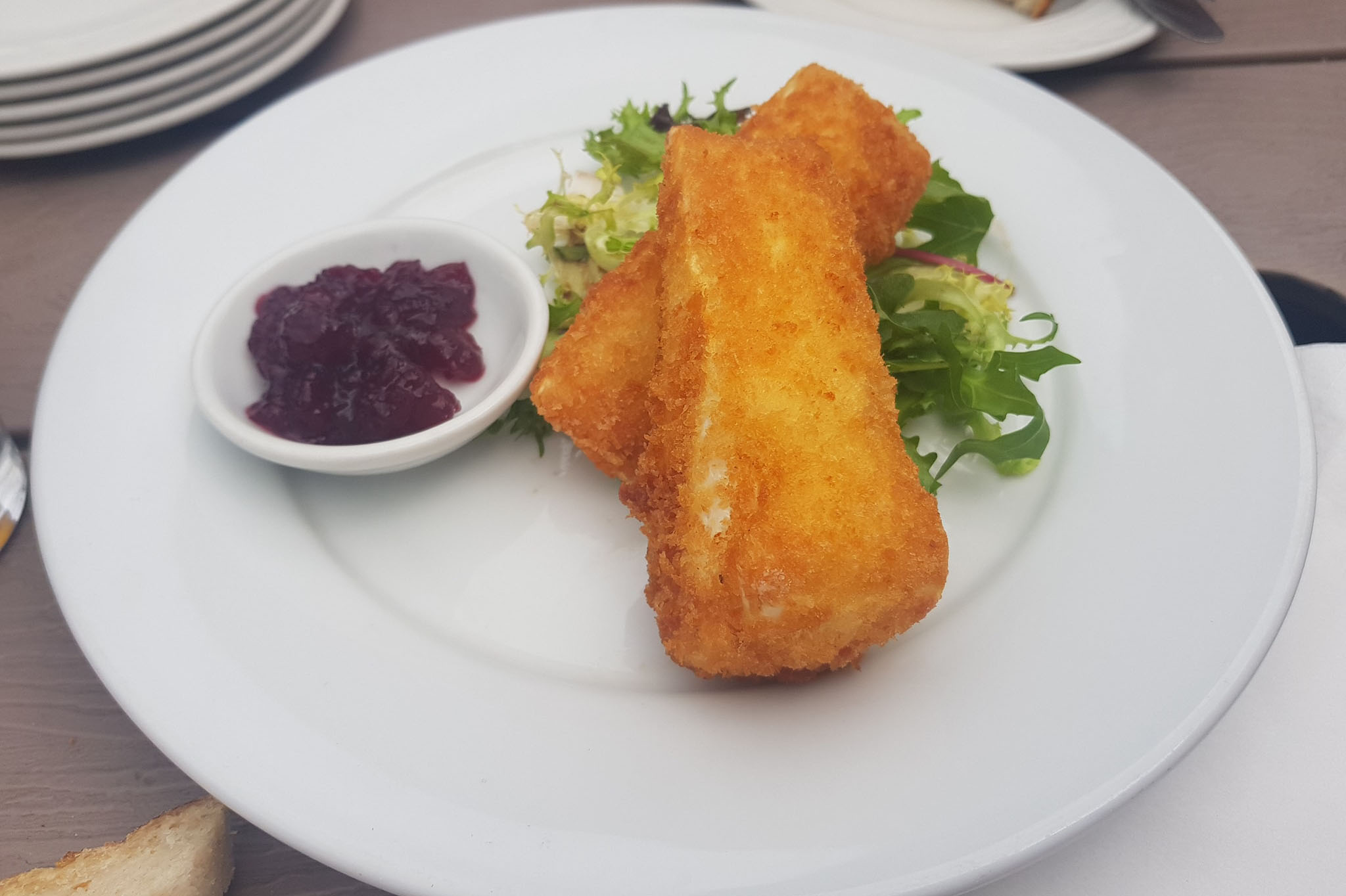 DEEP FRIED BRIE