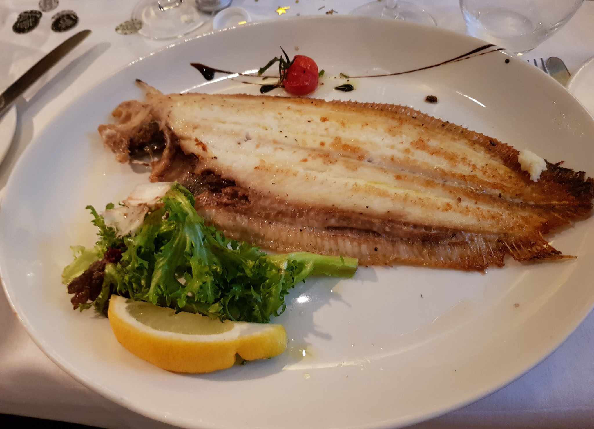 GRILLED DOVERSOLE