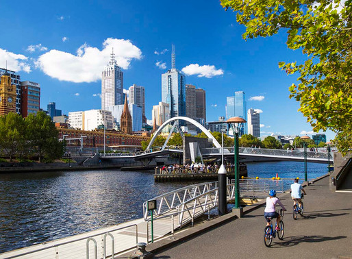 Best spots to ride your Me-Mover in... Melbourne!