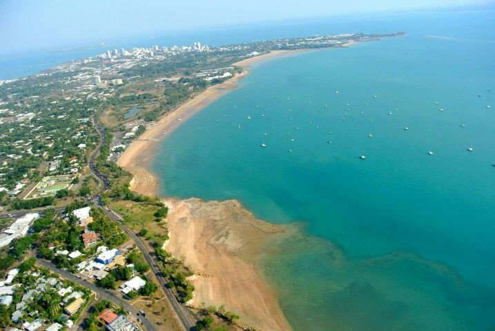 Cullen Bay to East Point along Fannie Bay in Darwin is a beautiful setting for bike riding or riding your Me-Mover Stepper Bike