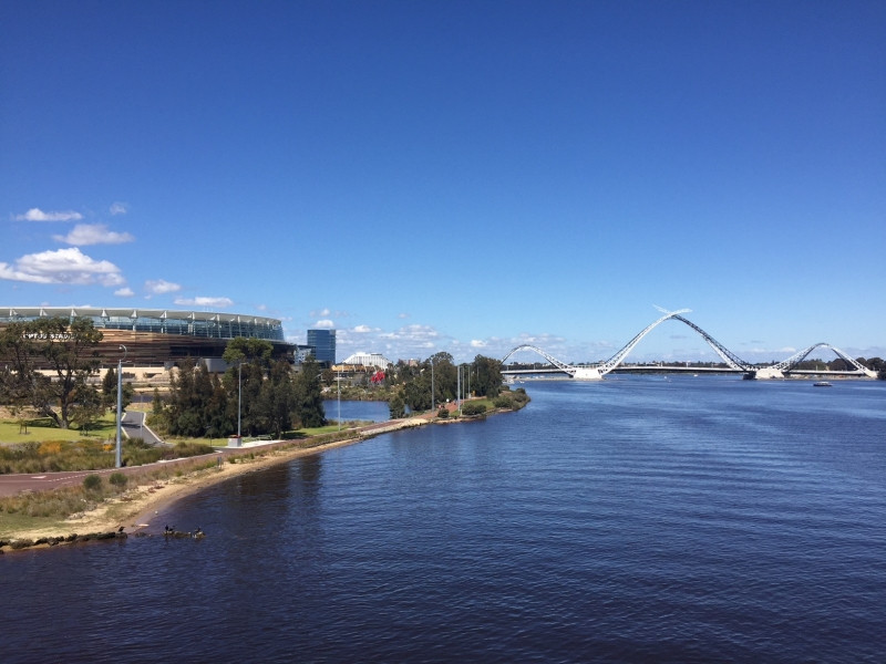 The shores of the Swan River are perfect for Me-Movers
