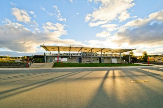 Stromlo Forest Park's Criterium Circuit is perfect for riding your Me-Mover in a relatively flat, open space