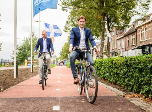 World's First Recycled Plastic Bike Path
