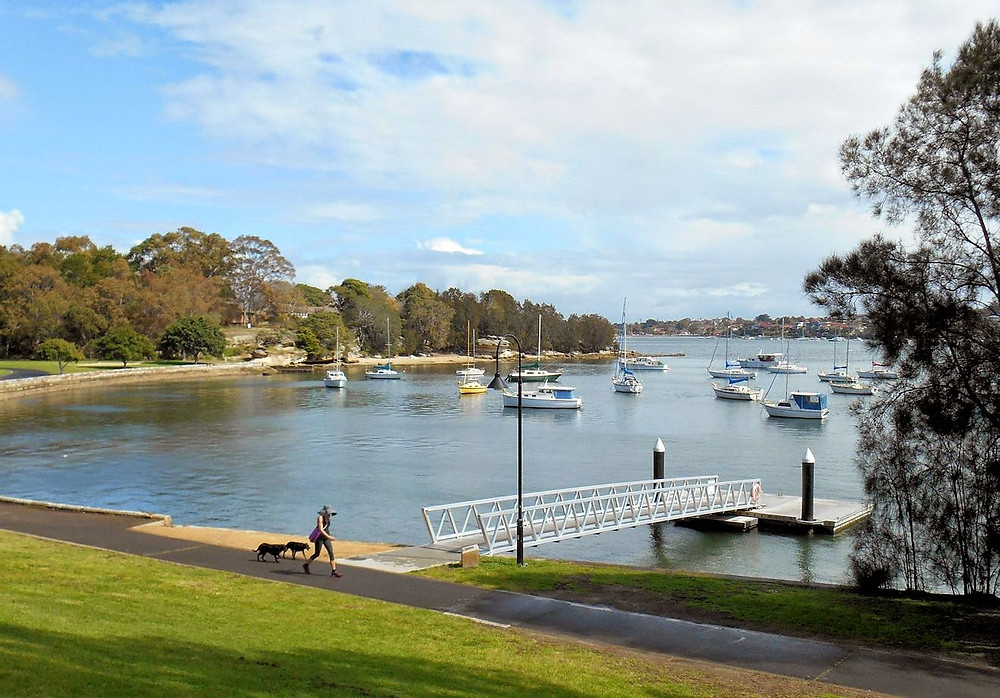 Bay Run Iron Cove is a bike track in Sydney Australia suitale for riding a Me-Mover Stepper Bike