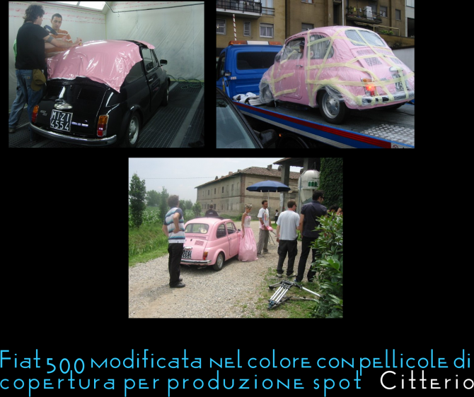 Fiat 500 spot Citterio