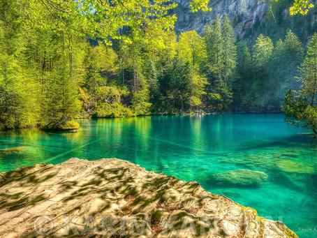 (Vídeo) Parece cenário de filme, mas é apenas mais um lago aqui na Suíça!