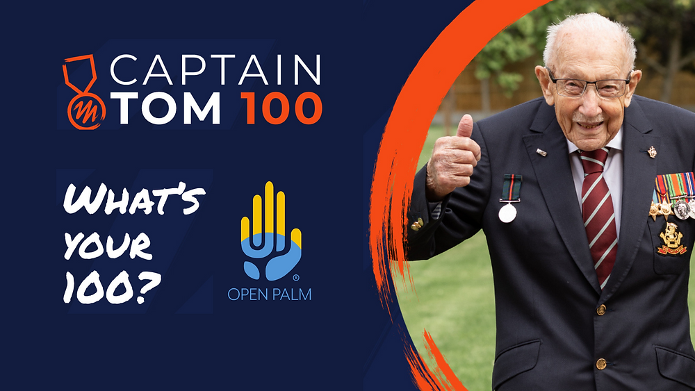 Open Palm - Captain Tom 100 Challenge - Charles Stanley