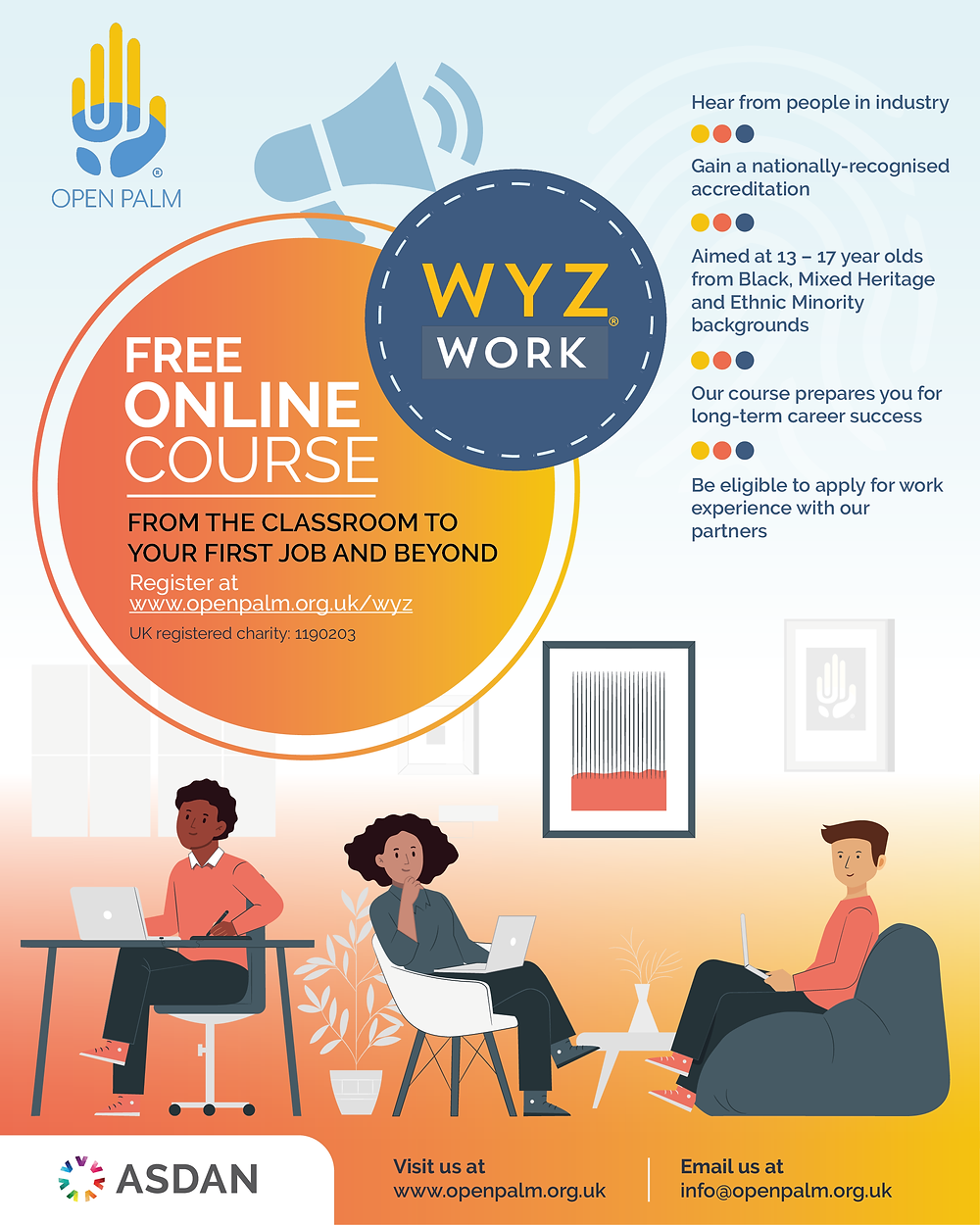 Open Palm - WYZ For Work course