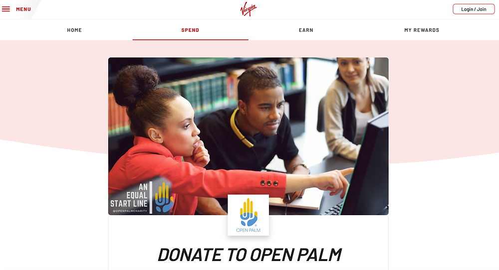Virgin Red - Open Palm