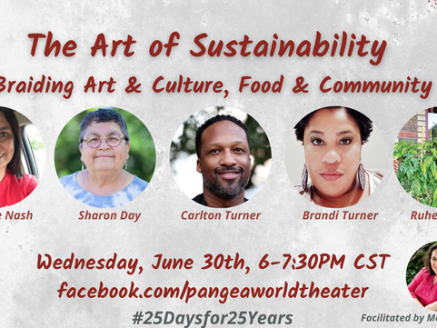 The Art of Sustainability: Braiding Art & Culture, Food and Community