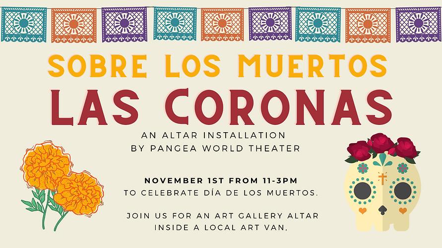 Website header Sobre Los Muertos Las Cor