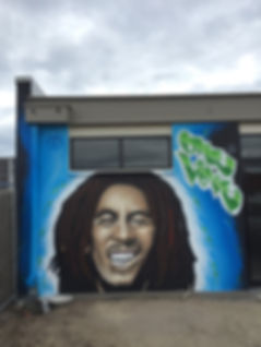 Graffiti Mural at Essendon Football Club