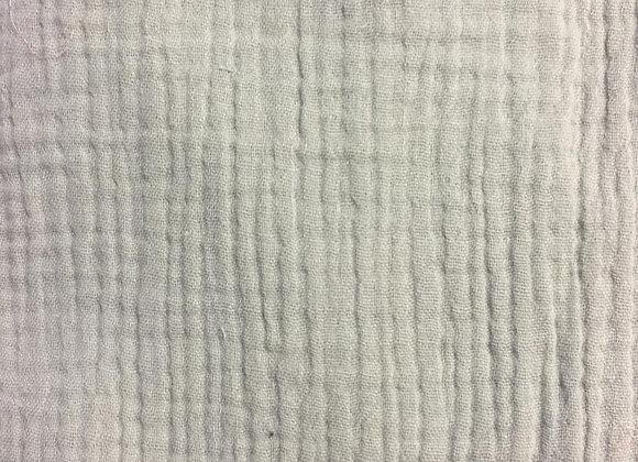 Uni - gaze de coton vert d'eau