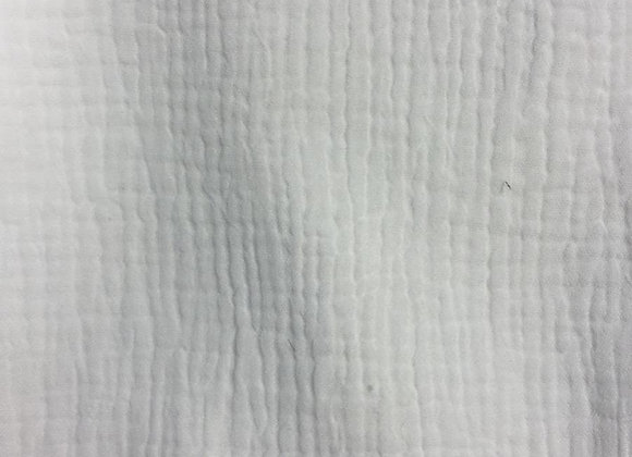 Uni - gaze de coton blanc