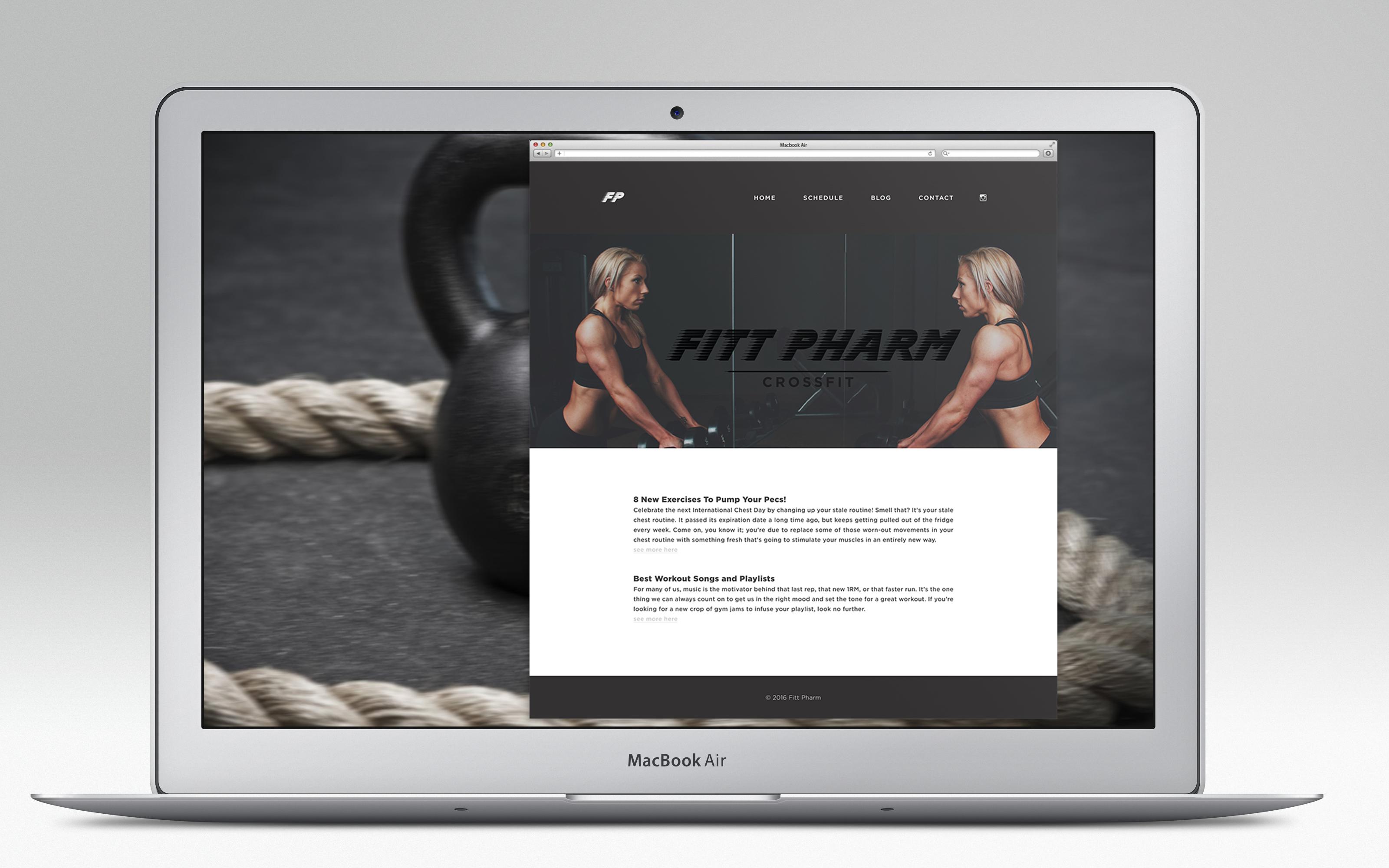 Fitt Pharm Website